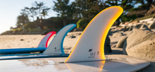 TSJ × True Ames Surf Fins collection