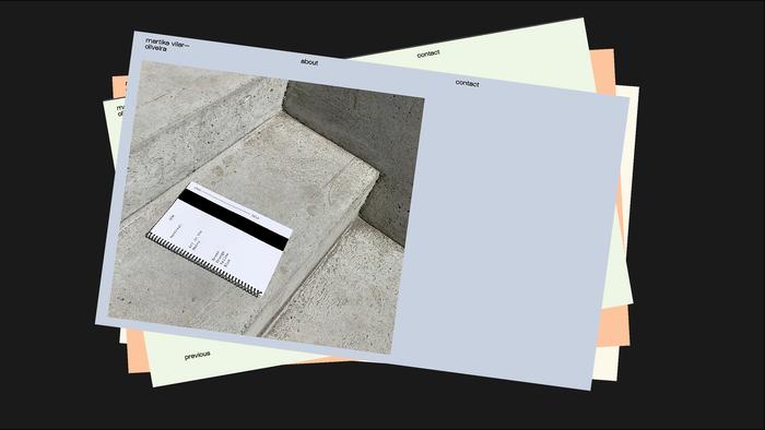 Martika Vilar web portfolio 3