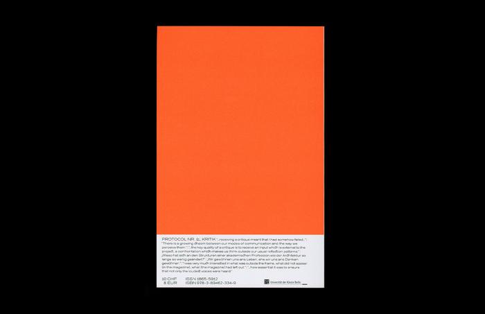 Protocol Nr.11 – Magazin für Architektur im Kontext 9