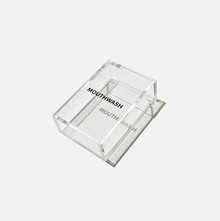 Mouthwash acrylic case