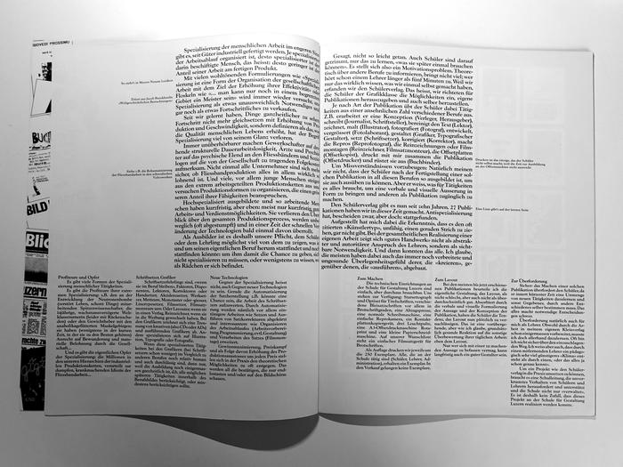 Der Schülerverlag an der Schule für Gestaltung in Luzern … und warum es ihn gibt. Ein Bericht von Hans-Rudolf Lutz 3