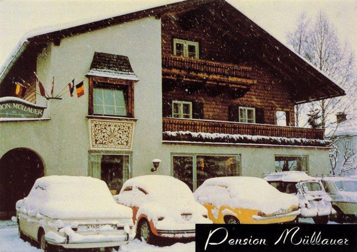 Pension Müllauer postcard