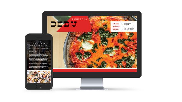 Pizzeria Bebu identity 4