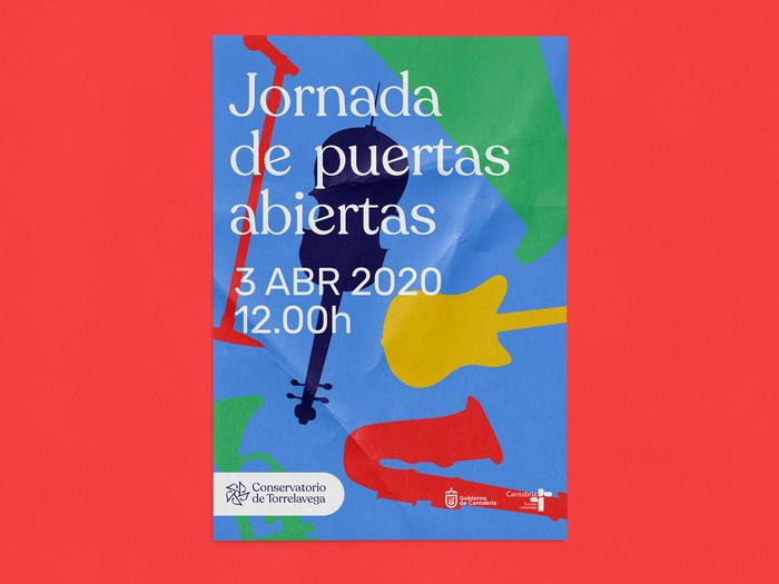 Conservatorio de Torrelavega branding 3