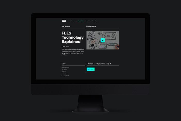 FLEx Lighting website 4