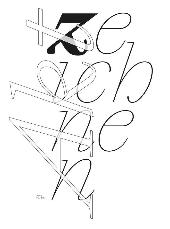 """""""Aktzeichnungen"""" poster and catalog 1"""