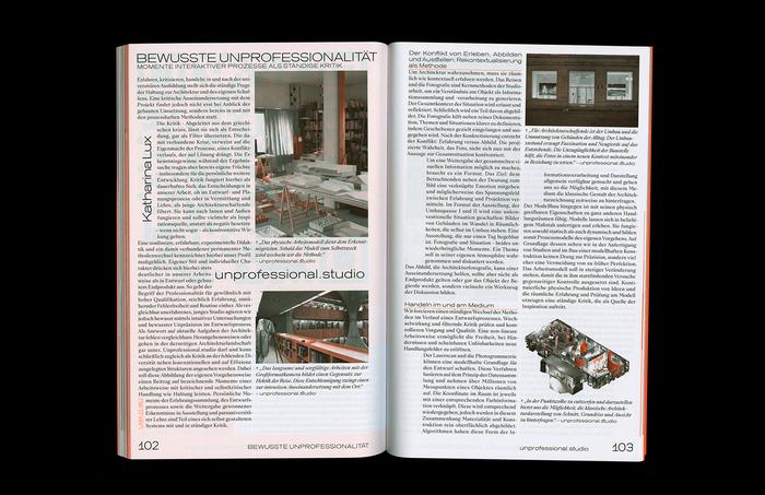 Protocol Nr.11 – Magazin für Architektur im Kontext 8