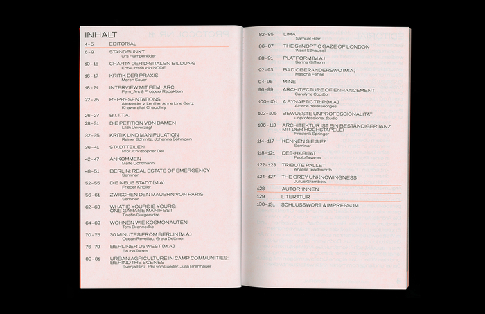 Protocol Nr.11 – Magazin für Architektur im Kontext 3