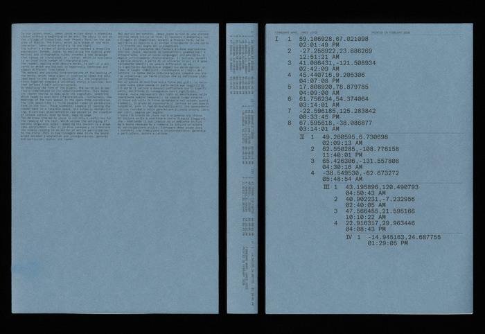 Finnegans Wake by James Joyce (ISIA Urbino) 3