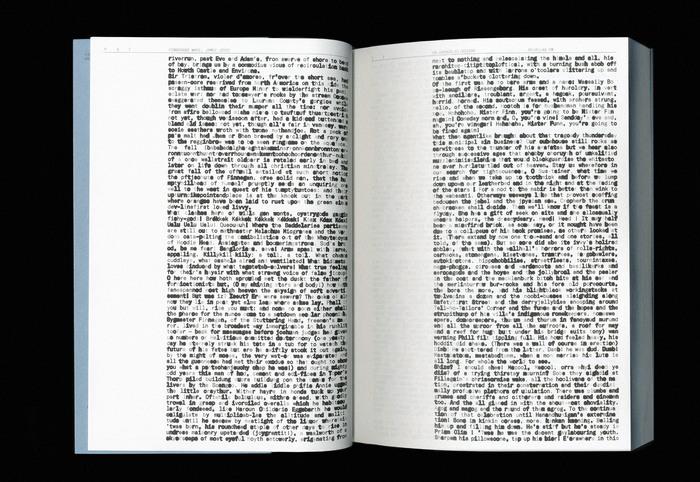 Finnegans Wake by James Joyce (ISIA Urbino) 5