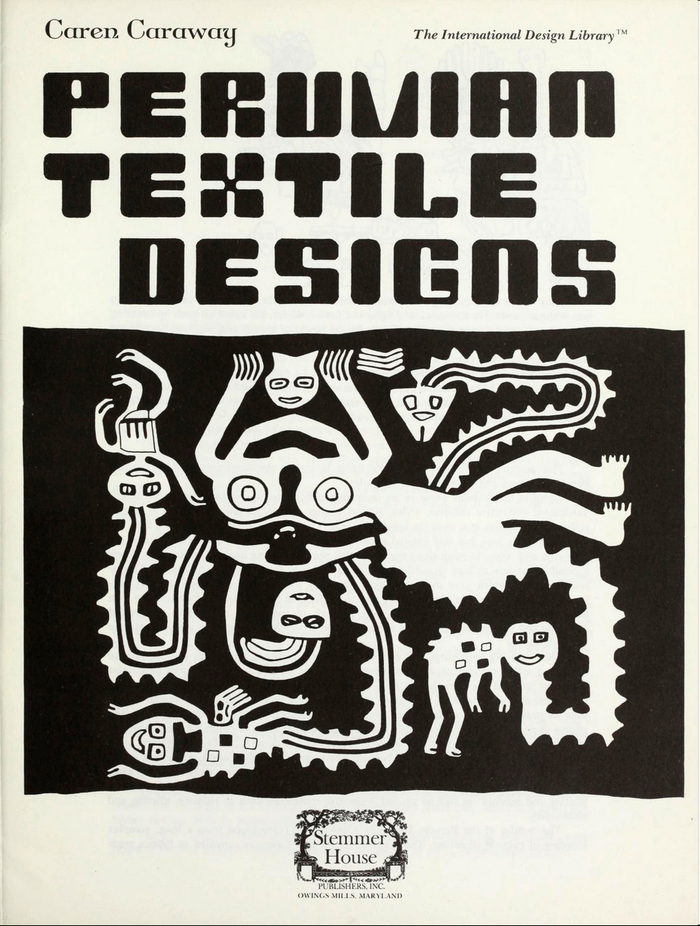 The lettering on the title page is less casual than on the cover, but also handdrawn, with small deviations from the original.