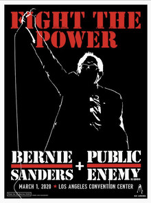 """Fight The Power"" – Bernie Sanders + Public Enemy"
