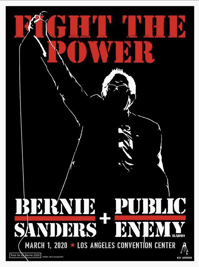 """""""Fight The Power"""" – Bernie Sanders + Public Enemy"""