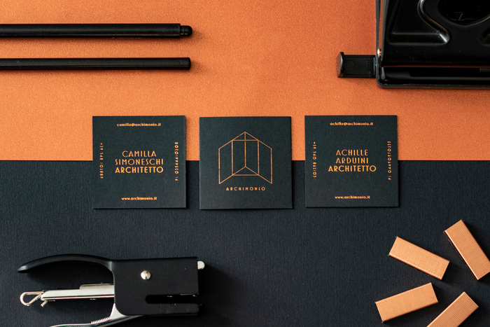 Archimonio business cards 1