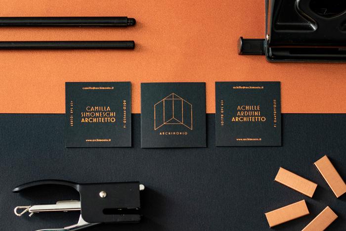 Archimonio business cards 1