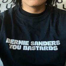 """""""Bernie Sanders You Bastards"""" longsleeve"""