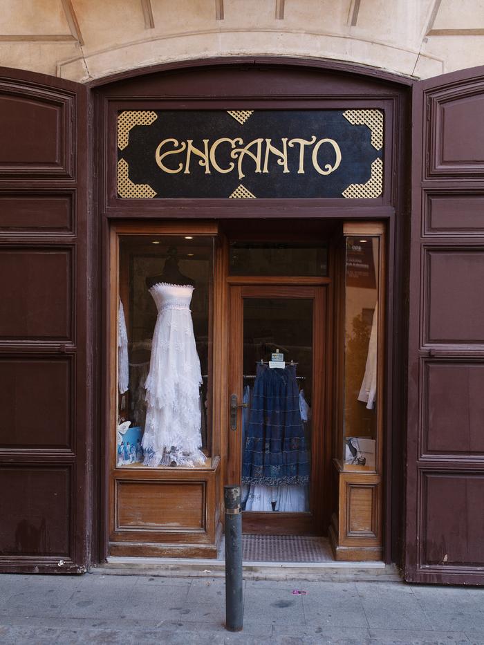 Encanto shop sign, Alicante