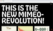 New Mimeo Revolution