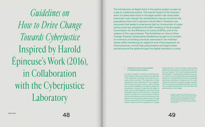 A Tale of Cyberjustice 8