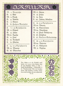Wilhelm Raabe Kalender 1912