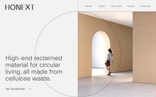 Honext website