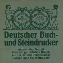 <cite>Deutscher Buch- und Steindrucker</cite>, Vol. 25 No. 8