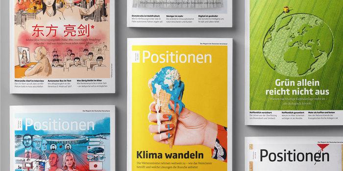 GDV identity and magazine (2018 redesign) 1