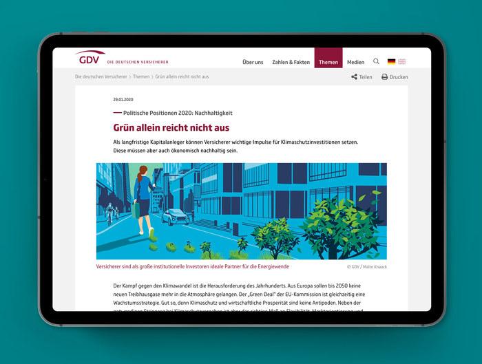 GDV identity and magazine (2018 redesign) 7