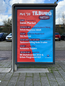 """""""Tilburg trakteert!"""" poster"""