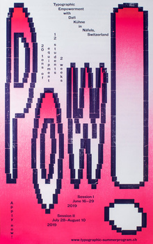 """Pow!"" poster"