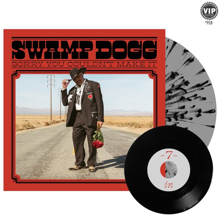Swamp Dogg – Sorry You Couldn't Make It album art 8