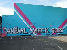 """Anëml Meck Sory"" graffito"