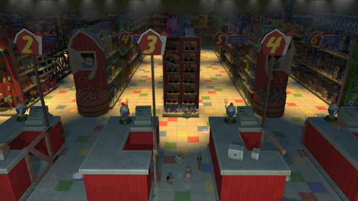 Al's Toy Barn in Toy Story 2 2