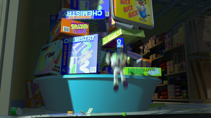 Al's Toy Barn in Toy Story 2 3