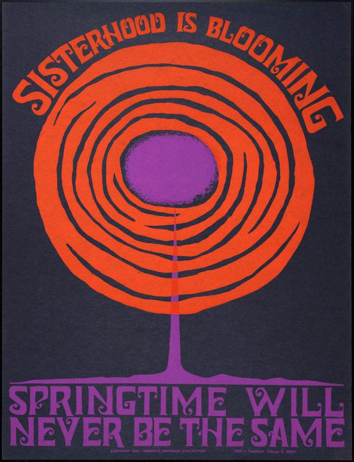 """""""Sisterhood is Blooming"""" poster 1"""