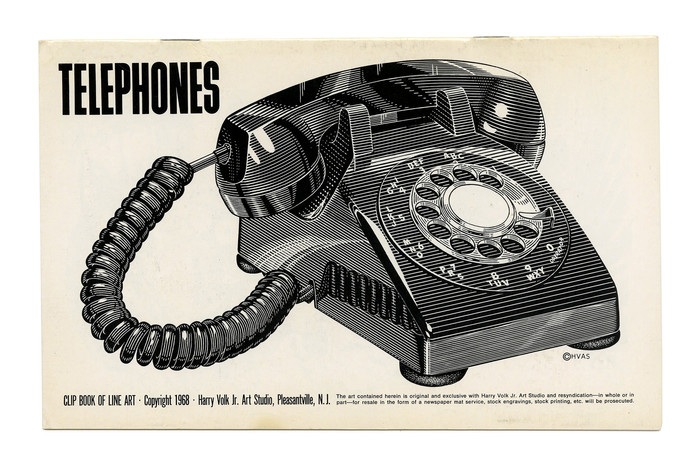 """Telephones"" (No. 171) ft. Filmotype Gamma."