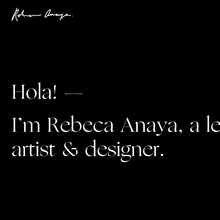 Rebeca Anaya portfolio website