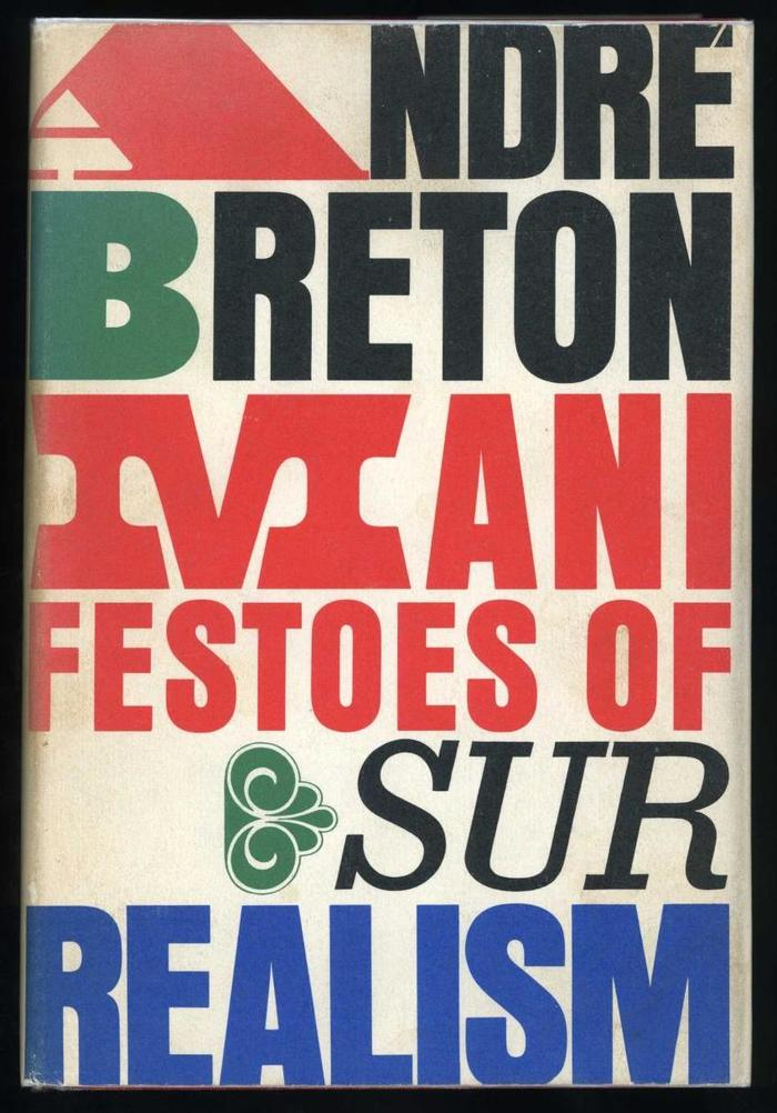Manifestoes of Surrealism by André Breton, first English edition 1