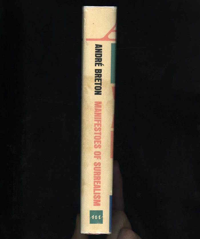 Manifestoes of Surrealism by André Breton, first English edition 2