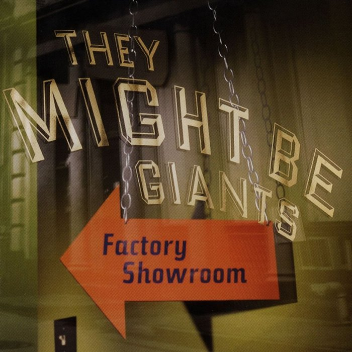 They Might Be Giants – Factory Showroom album art
