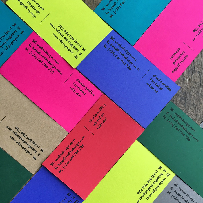 Vedia business cards 2