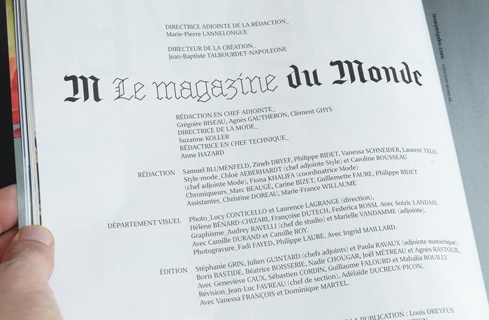 M Le Magazine du Monde (2019–) 2
