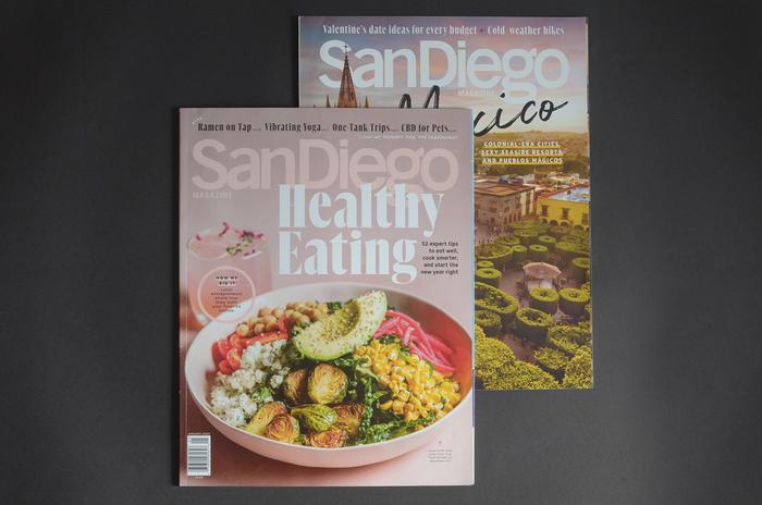 San Diego Magazine redesign 1