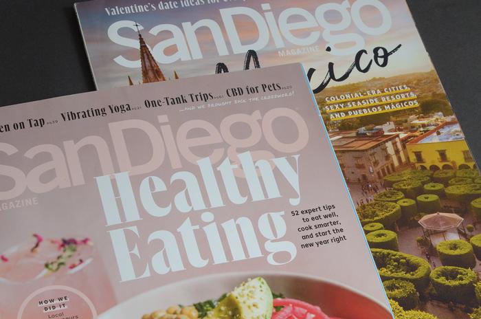 San Diego Magazine redesign 2