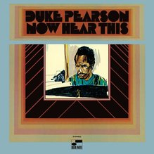 Duke Pearson – <cite>Now Hear This</cite> album art