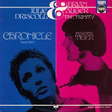 Julie Driscoll, Brian Auger &amp; The Trinity – <cite>Chronicle (1965–1967)</cite> album art