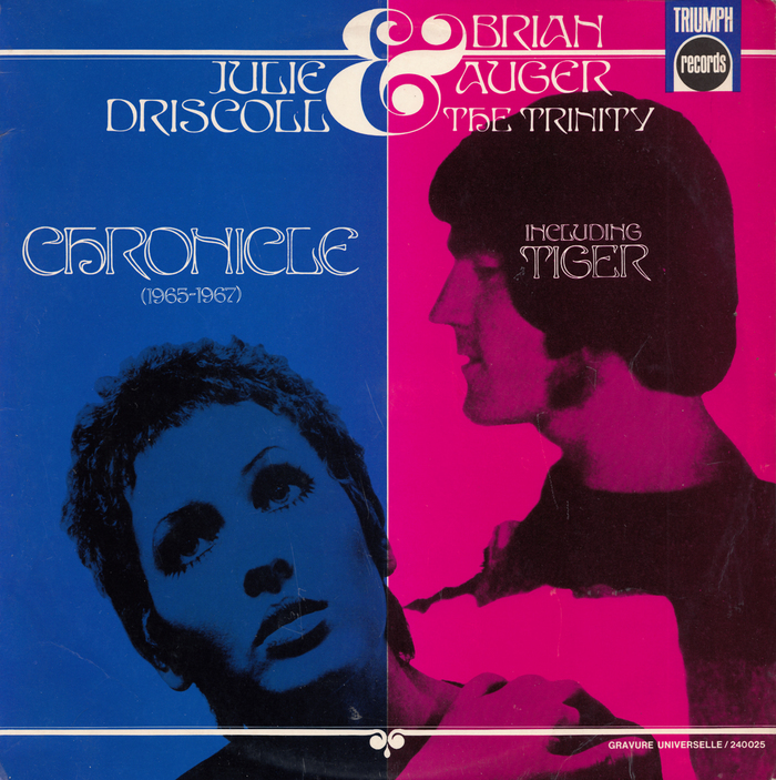 Julie Driscoll, Brian Auger & The Trinity – Chronicle (1965–1967) album art