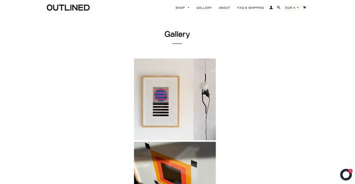 Outlined website 2