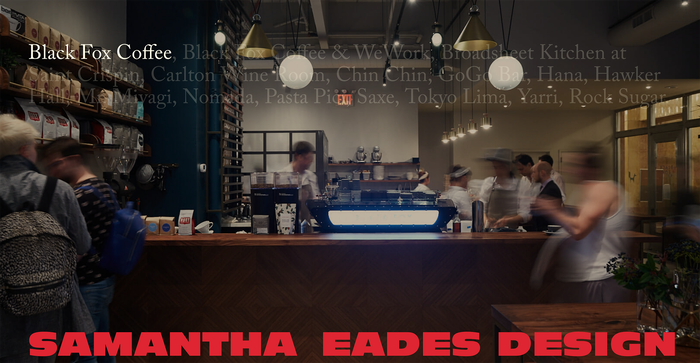Samantha Eades Design portfolio website 1