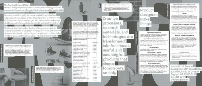 Product Design handbook, University of Oregon 2